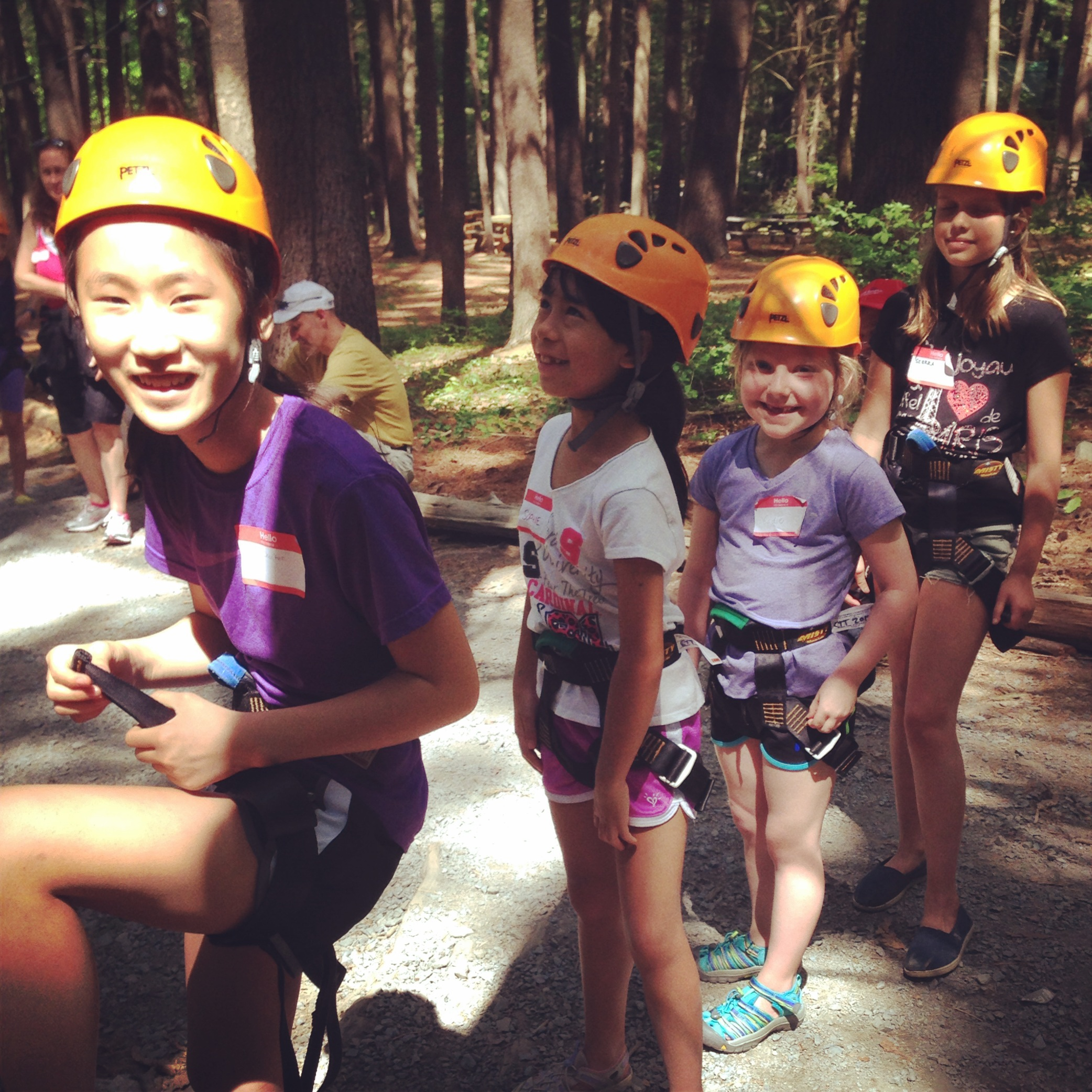 Adventure with New Campers!