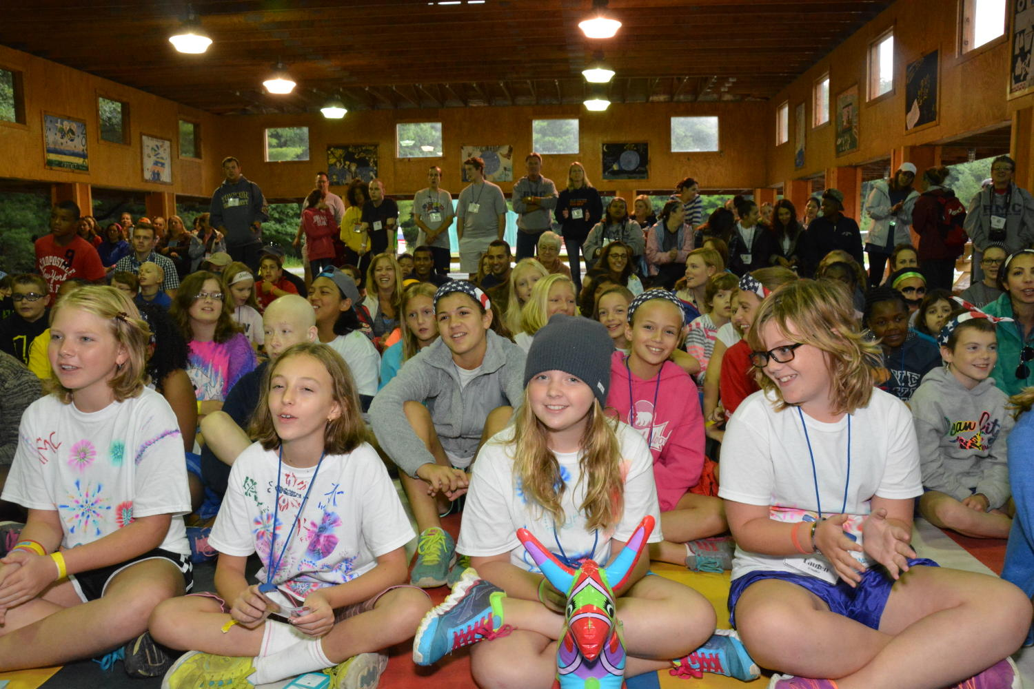 Ronald McDonald Camp at Camp Timber Tops, 2014