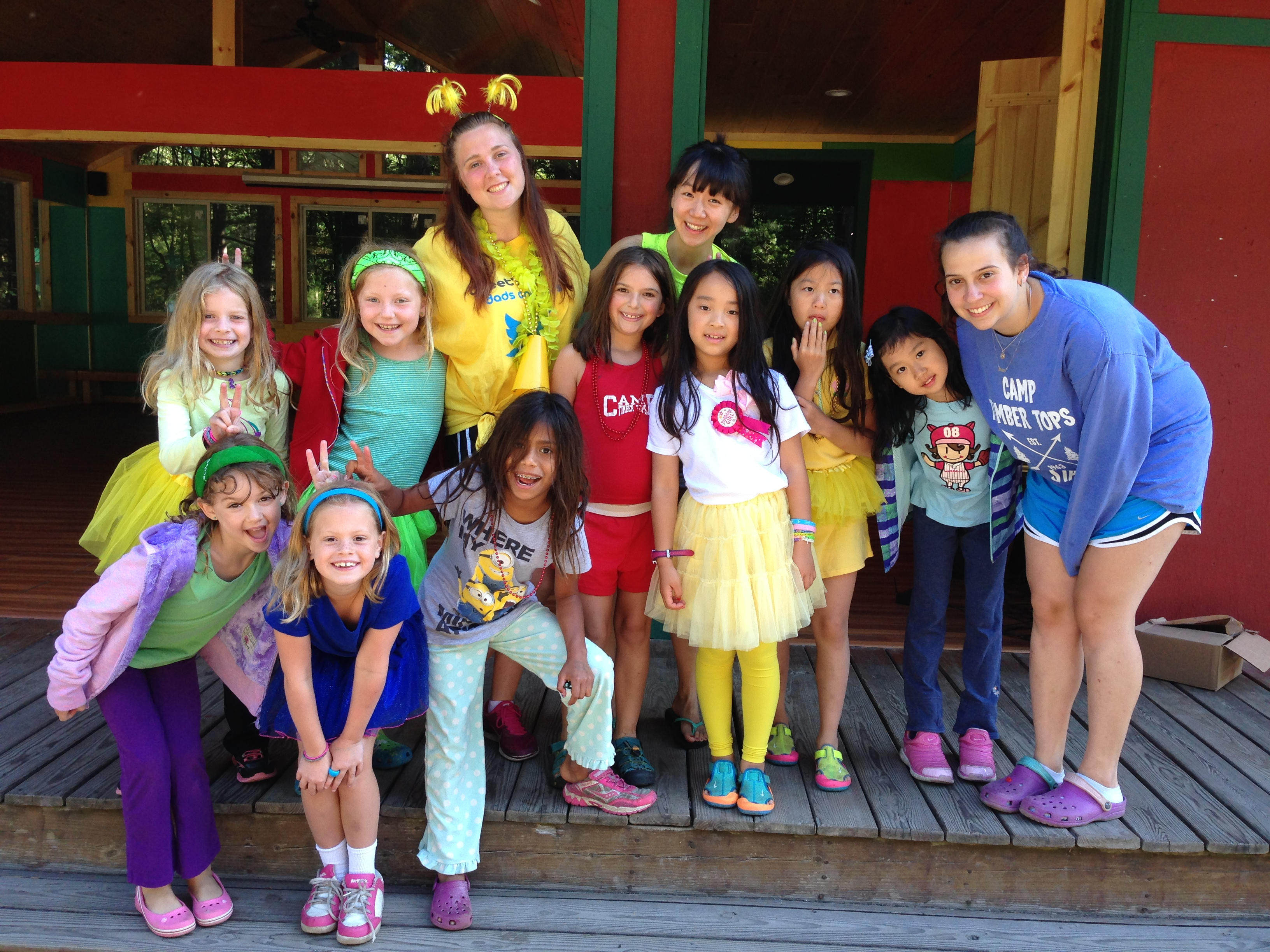 Camp Timber Tops Summer Camp for Girls